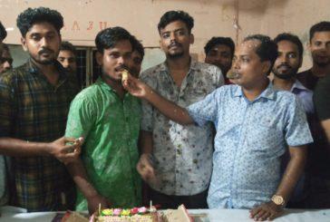 কপিলমুনিতে পাইকগাছা কলেজ ছাত্রলীগের সম্পাদকের জন্মদিন পালিত