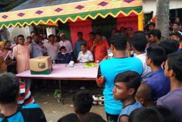 কলারোয়ায় বীর মুক্তিযোদ্ধা মোসলেম উদ্দিন ফুটবল টুর্নামেন্টের ফাইনালে সাহাপুর বিজয়ী