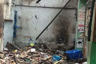 কলারোয়ার বালিয়াডাঙ্গা বাজারে ভয়াবহ অগ্নিকাণ্ডে ১টি প্রতিষ্ঠান পুড়ে ছাই